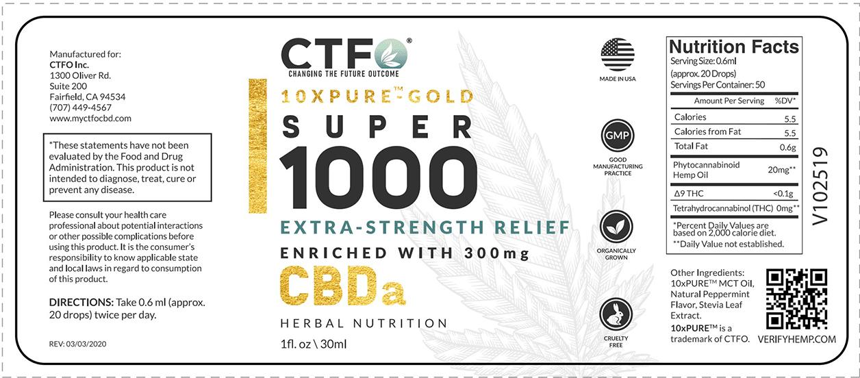 10xPURE™-GOLD Super 1000