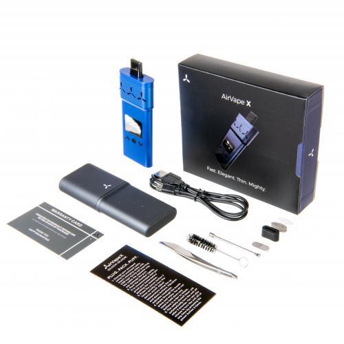 Buy AirVape X | Blue Best Portable Vaporizer Online