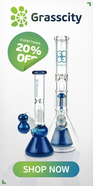 SAVE UP To 30% NOW! GRASSCITY BONGS