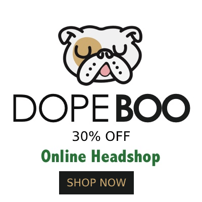 DOPE BOO 30% OFF - World's Best Online Smoke Shop!