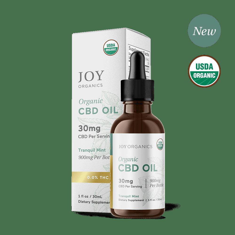 Tranquil Mint Organic CBD Tincture (Broad Spectrum)