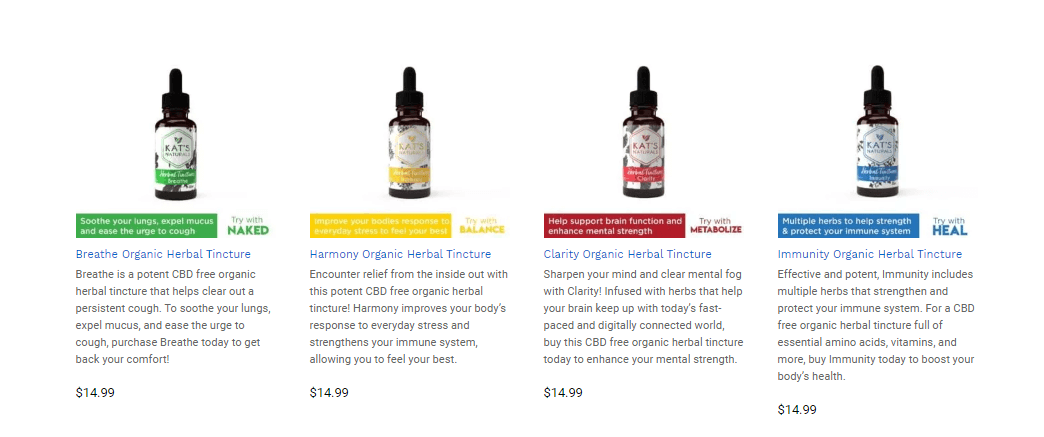 Buy Kat's Naturals: Quality Hemp and Ultra Concentrated Organic CBD Products