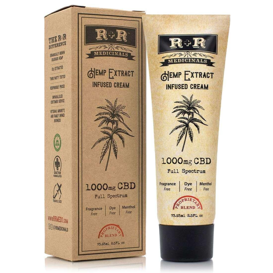 r&r medicinals Full-Spectrum CBD Cream