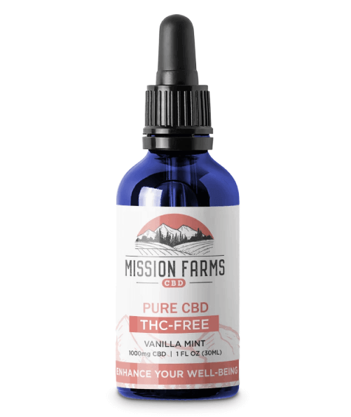 THC-Free Pure CBD Oil – Full-size