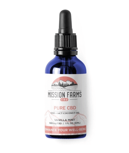 Mission Farms ENHANCE YOUR WELL-BEING WITH PURE CBD OIL