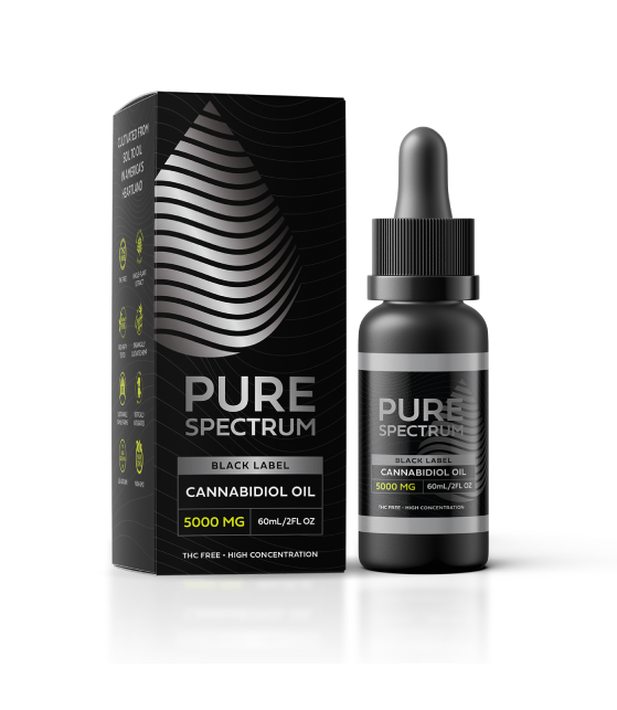 Buy Pure Spectrum CBD Gummies | CBD Oil | Black Label | EndoPet -Organic Hemp Products