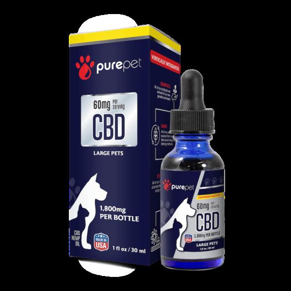 Buy Pure Pet CBD Oil for Dogs & Pets | Pure CBD Pet Tincture | Pure Pet CBD Hemp Oil | CBD Gel Capsules