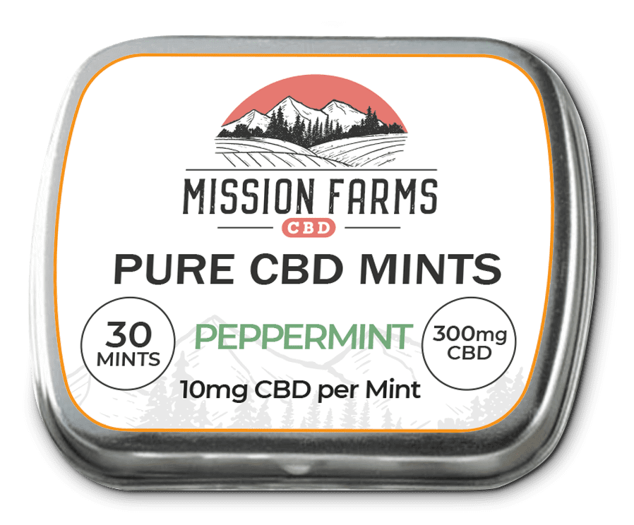 TAKE CBD ANYWHERE WITH OUR PURE CBD MINTS