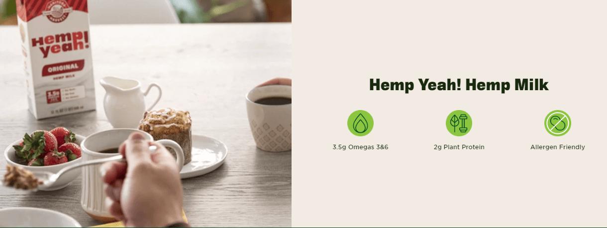 Buy Manitoba Harvest: Quality Hemp Products Hemp Hearts | Protein Powder | Hemp Seed Oil | Hemp Yeah! Granola | Powerful grain-free nutrition