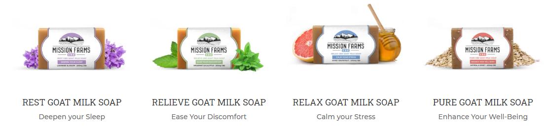 CBD SOAP WITH GOAT MILK