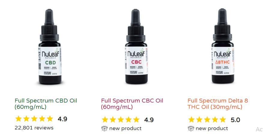 Buy NuLeaf Naturals CBD Oil | CBD Capsules and Softgel | Full Spectrum CBD Balm | Full Spectrum CBD Pet Oil