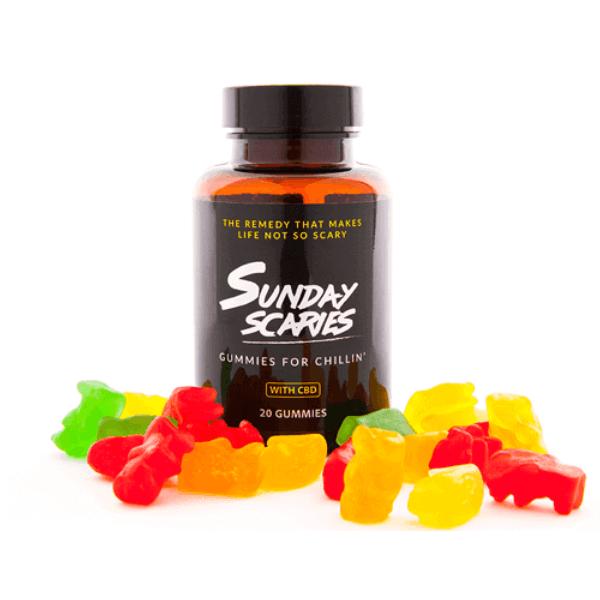 Buy Sunday Scaries Broad Spectrum CBD Gummies   Vegan CBD Gummies   CBD Oil Tincture   CBD Candy   Strawberry CBD Gummies   CBD Bath Bombs
