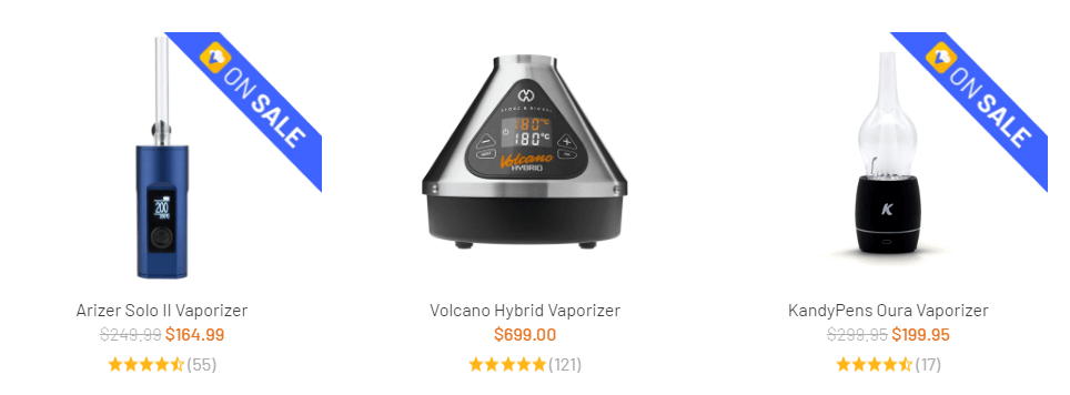 Buy The best vaporizers and glass | Vaporizer Parts & Accessories | Glass & Smoking Accessories | CBD Vapping