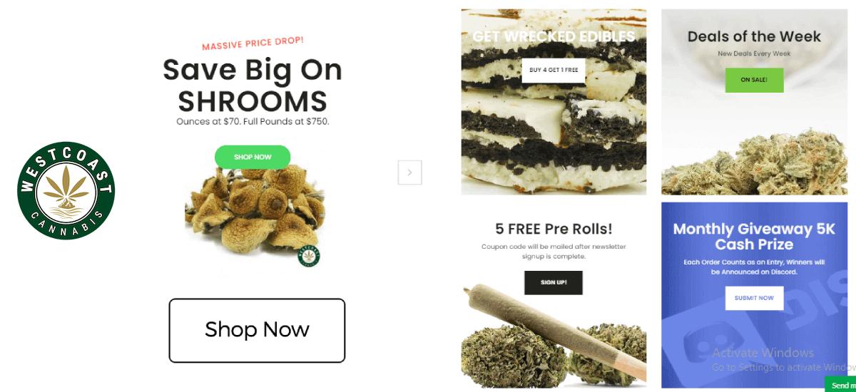 Buy Weed Online CA | #1 Weed Store | West Coast Cannabis